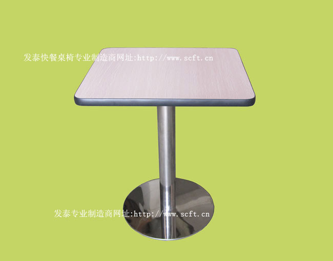 餐桌.快餐桌椅.中式快餐店桌椅.成都餐桌椅厂.四人连体分体快餐桌专业